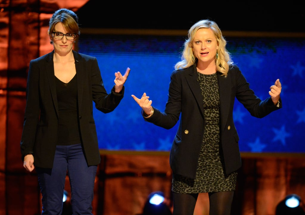 The blazer-clad BFFs joked around during Comedy Central's benefit for autism in October 2012.