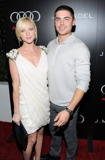 Pictures of Zac Efron and Brittany Snow on the Red Carpet at Audi Pre Golden Globe Party