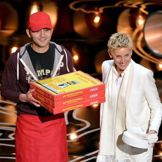 Pizza Delivery at the Oscars 2014