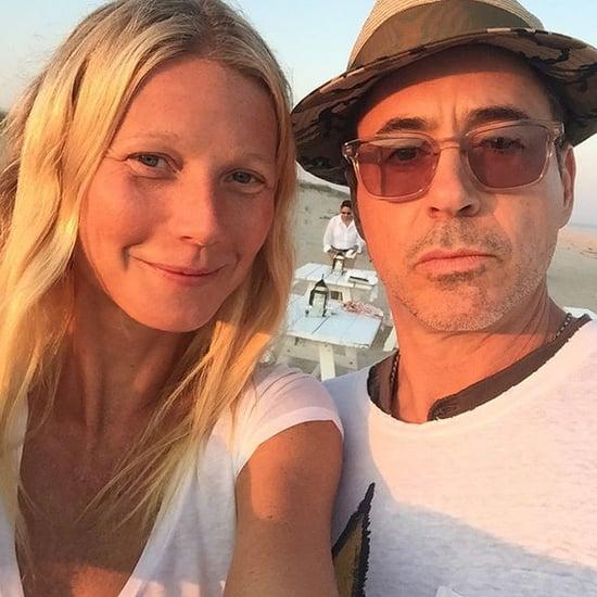 Gwyneth Paltrow and Robert Downey Jr.'s Beach Selfie