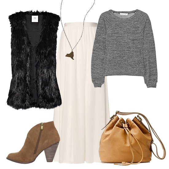 How to Wear White in Winter 2012