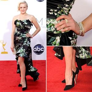 Elisabeth Moss at the Emmys 2012