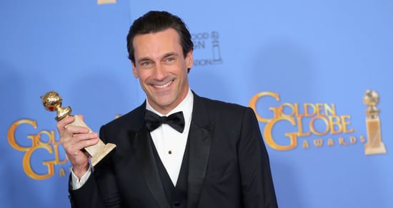 Jon Hamm's Name Is Spelled Wrong on His Golden Globe