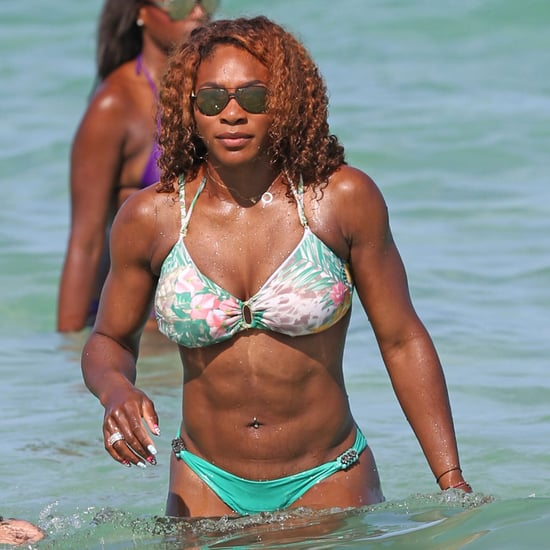 Serena Williams in a Bikini in Miami Photos