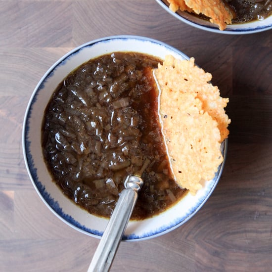 Vegetarian Slow-Cooker French Onion Soup