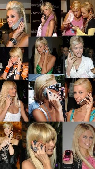 Paris Hilton's Cell Phone Evolution