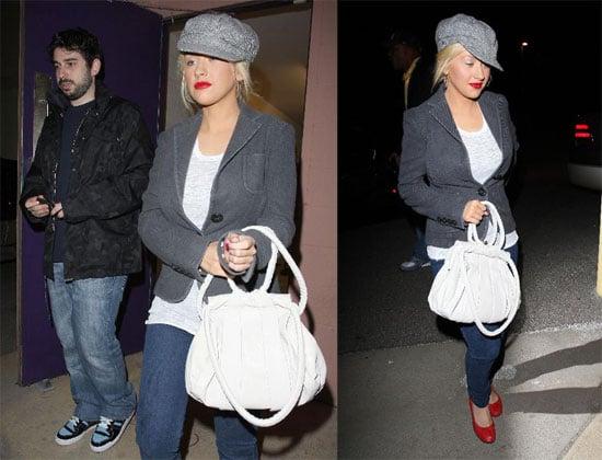 Christina Aguilera Skinny Dipping