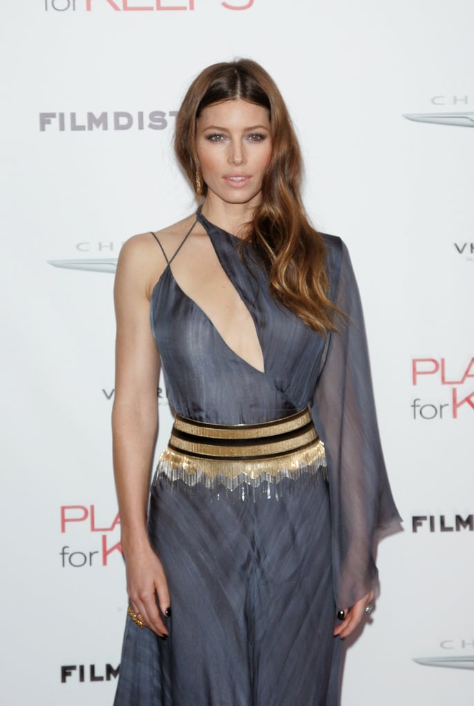 Jessica Biel stepped out in NYC for the premiere of her new film Playing For Keeps.