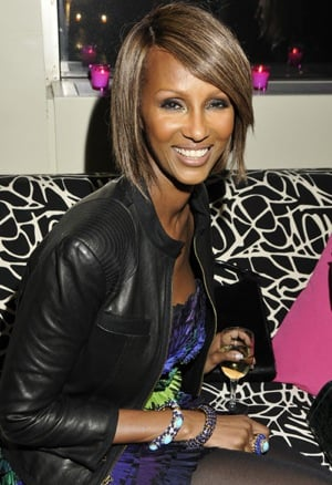 Iman Attends the DVF Awards at the United Nations