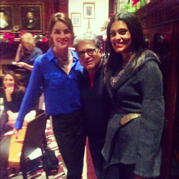 Hilary Rhoda and Rachel Roy attended an event with Deepak Chopra. Source: Instagram user hilaryhrhoda