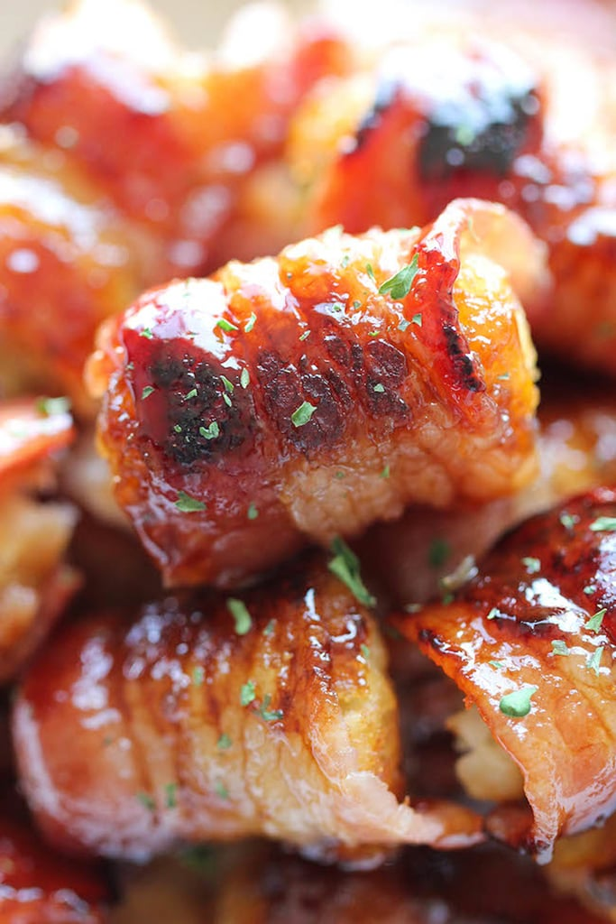 Bacon-Wrapped Tater Tot Bombs