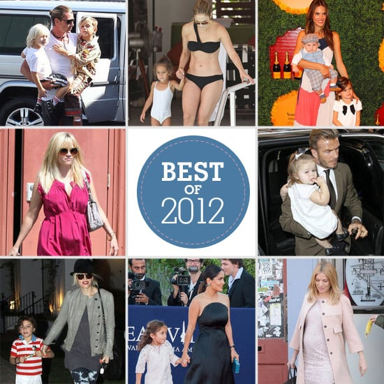 Best of 2012: Our Favorite Pictures of Celebrity Moms, Dads, and Kids