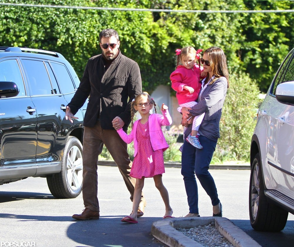 Ben Affleck and Jennifer Garner took their daughters, Violet and Seraphina, out in LA.