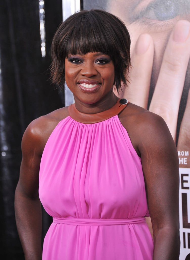 Viola Davis was at NYC's Ziegfeld Theatre for the premiere of  Extremely Loud and Incredibly Close.