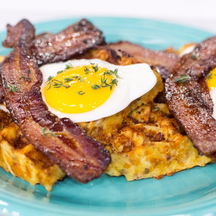 Easy Hash Brown Waffles Recipe   POPSUGAR Food