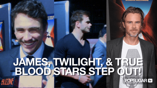 Video of James Franco at the 127 Hours Premiere With Kellan Lutz and True Blood Stars 2010-11-04 12:28:21
