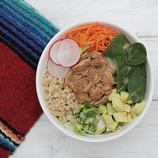 BBQ Pulled-Pork Rice Bowl Recipe