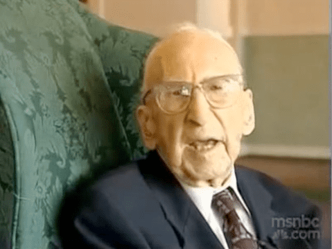 Practice Moderation Like World's Oldest Man