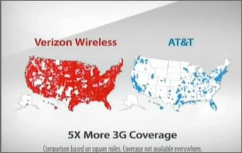 """AT&T Sues Verizon over """"There's a Map For That"""" Commercials"""