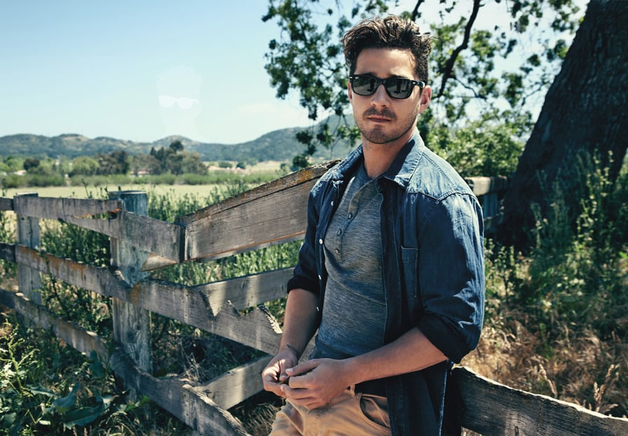 Shia's photo shoot for Details magazine in August 2011 resulted in one of the hottest photos of him we've ever seen. Seriously.