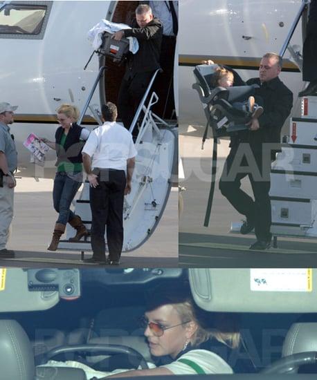 Britney Lands in Burbank