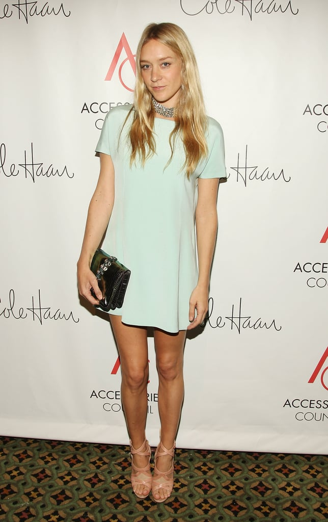 """We call this """"mint green perfection,"""" otherwise known as Chloë Sevigny at the 2008 ACE Awards."""
