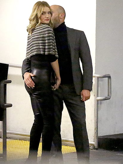 Cheeky! Jason Statham and Rosie Huntington-Whiteley Show Cute PDA During Date Night