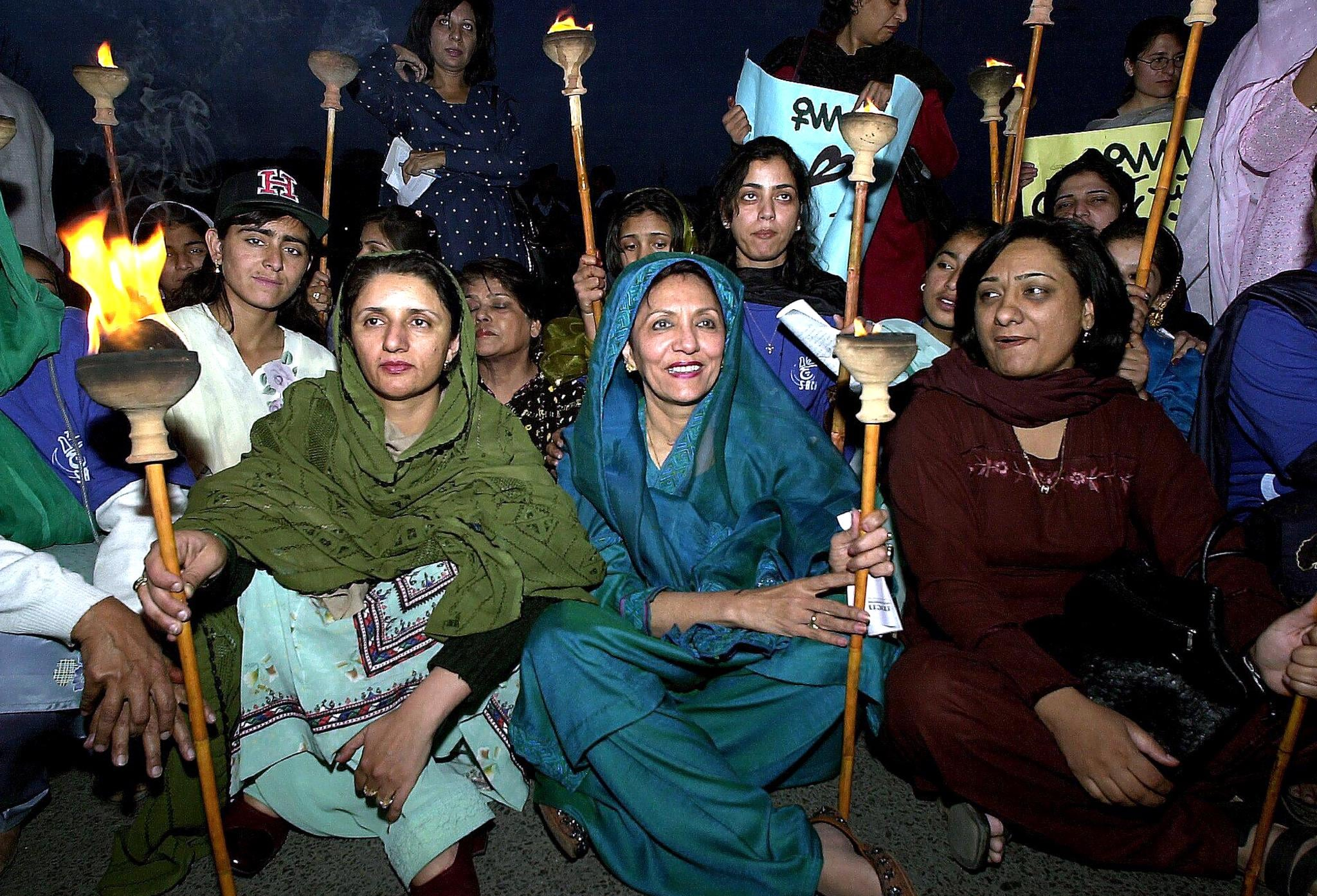 International Women's Day in Pakistan, 2001