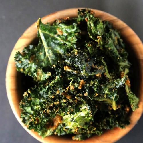 Cheesy Kale Chips   POPSUGAR Food