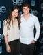Engaged couple Melissa Benoist and Blake Jenner looked cute together.
