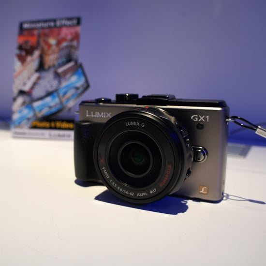 Panasonic Lumix GX1 at CES 2012