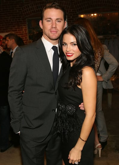 Pictures of Jenna Dewan and Channing Tatum Stepping Out in Style For GQ