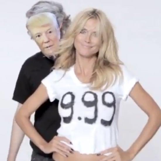 Heidi Klum's Twitter Response to Donald Trump