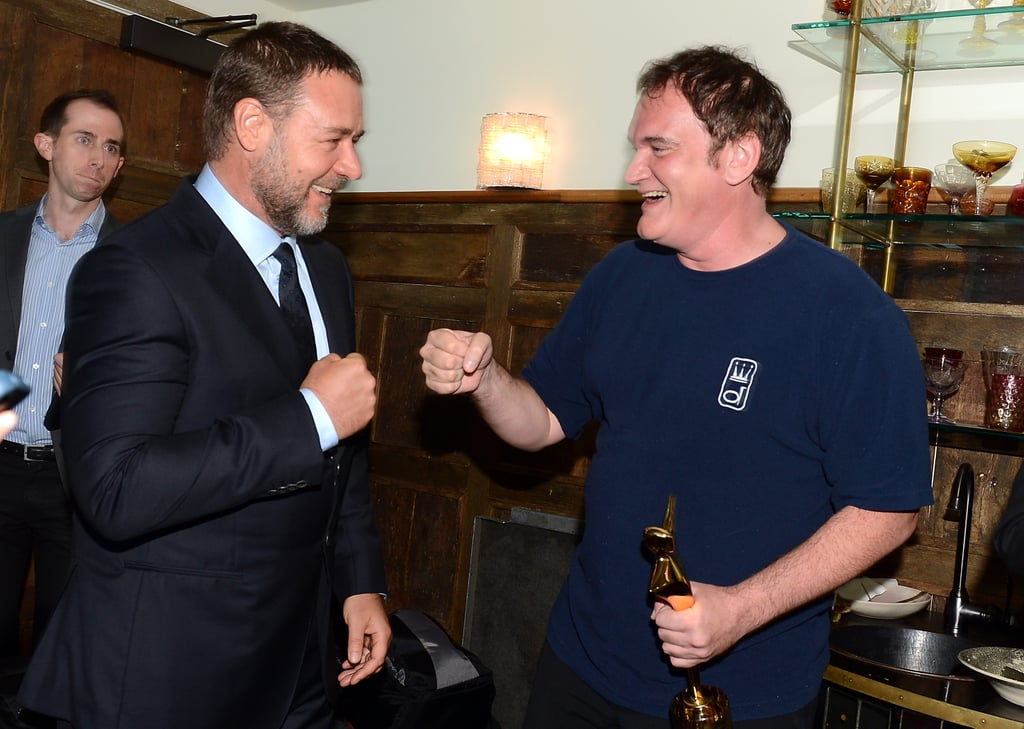 Russell Crowe & Quentin Tarantino