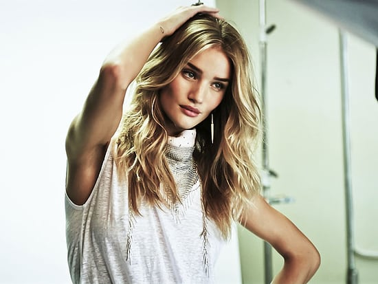 Inside Rosie Huntington-Whiteley's Sexy, Sweet First Shoot for Paige Denim