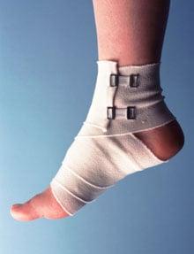 For Minor Bumps and Bruises Use R.I.C.E.