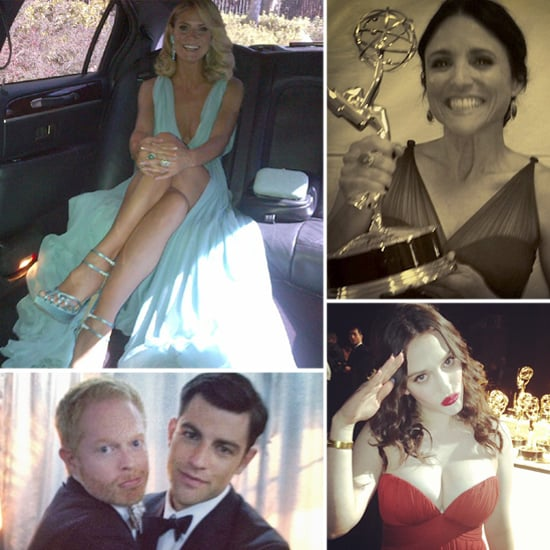 Heidi, Zooey, and More Share Cute Candids From the Emmys!