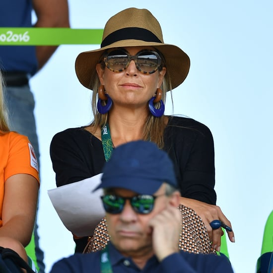 Queen Maxima's Earrings at the Olympics Summer 2016