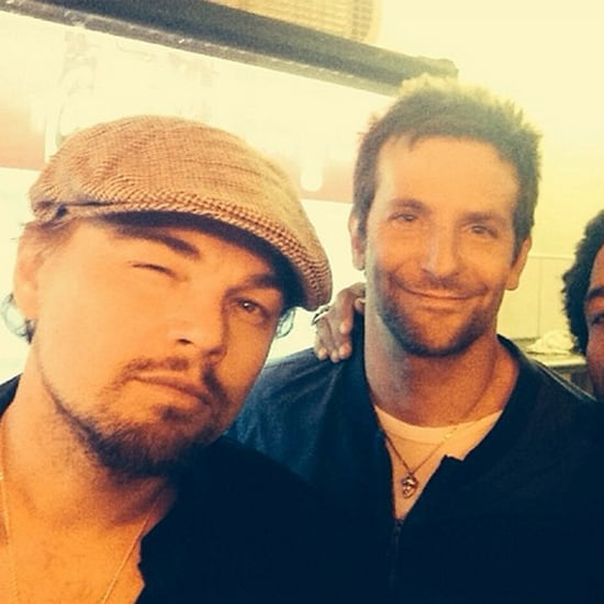 Leonardo DiCaprio, Bradley Cooper, and Lenny Kravitz in NYC