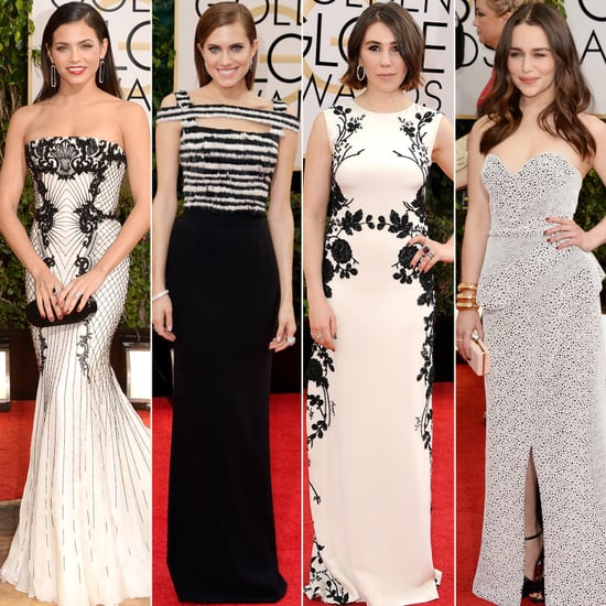 What's Black and White and All Over the Red Carpet? This Trend