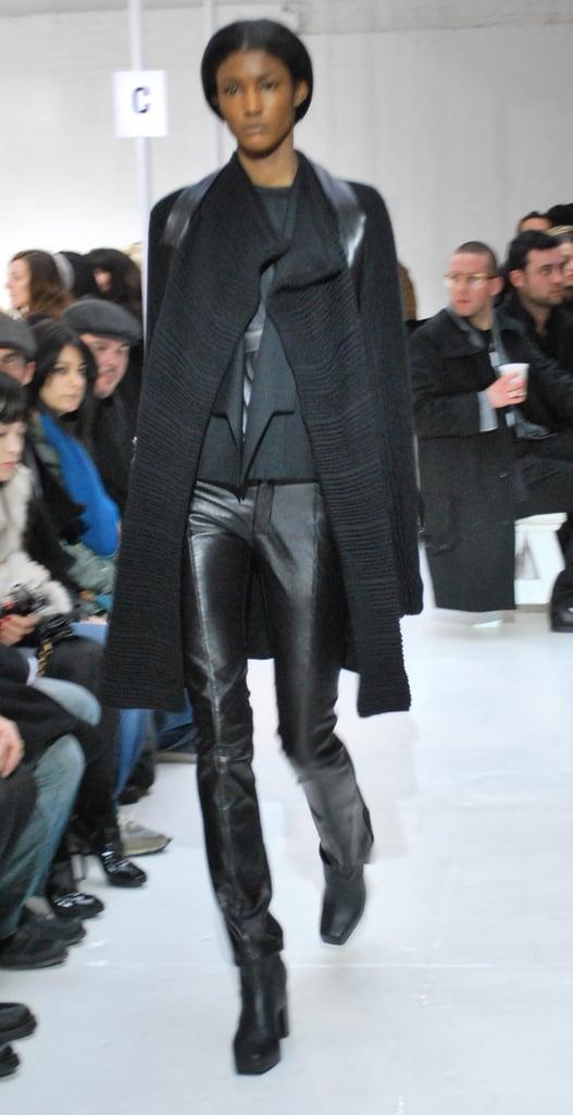 New York Fashion Week: Rad Hourani Fall 2009