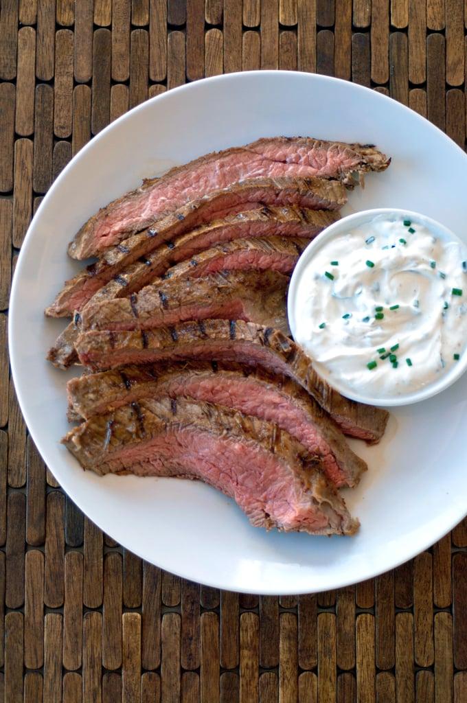 Yogurt-Marinated Flank Steak