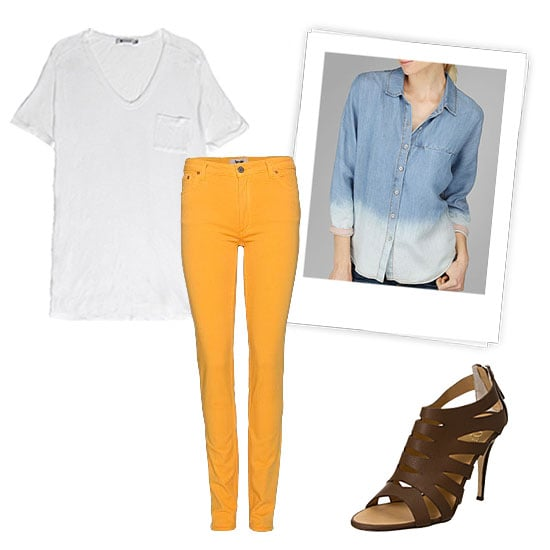 Color-Injected Denim