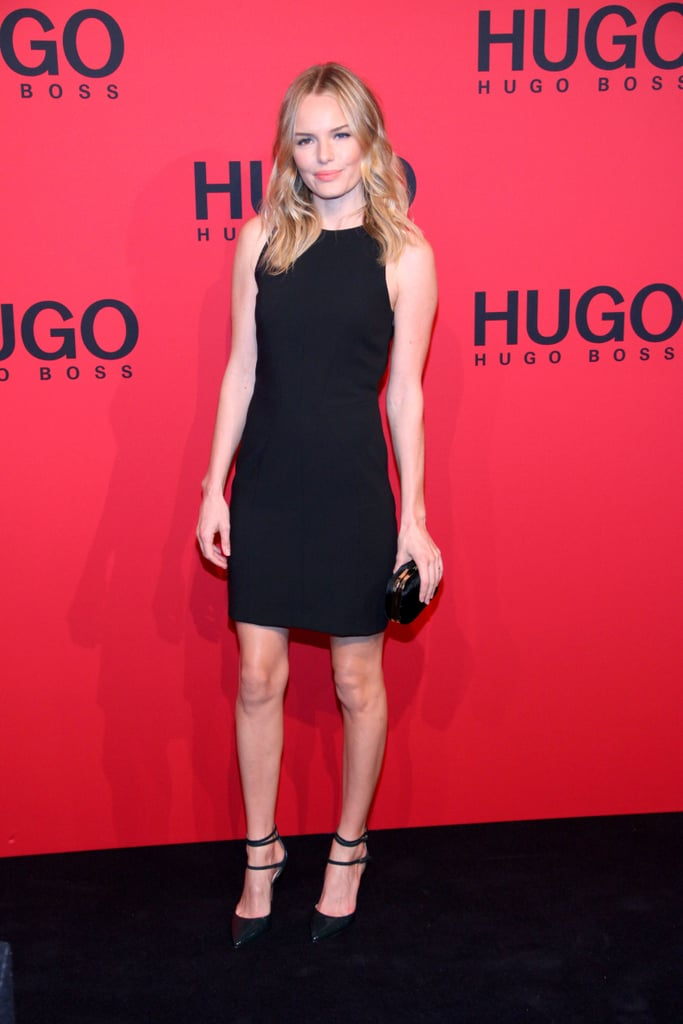 Kate Bosworth walked the red carpet at the Hugo by Hugo Boss fashion show in Berlin.
