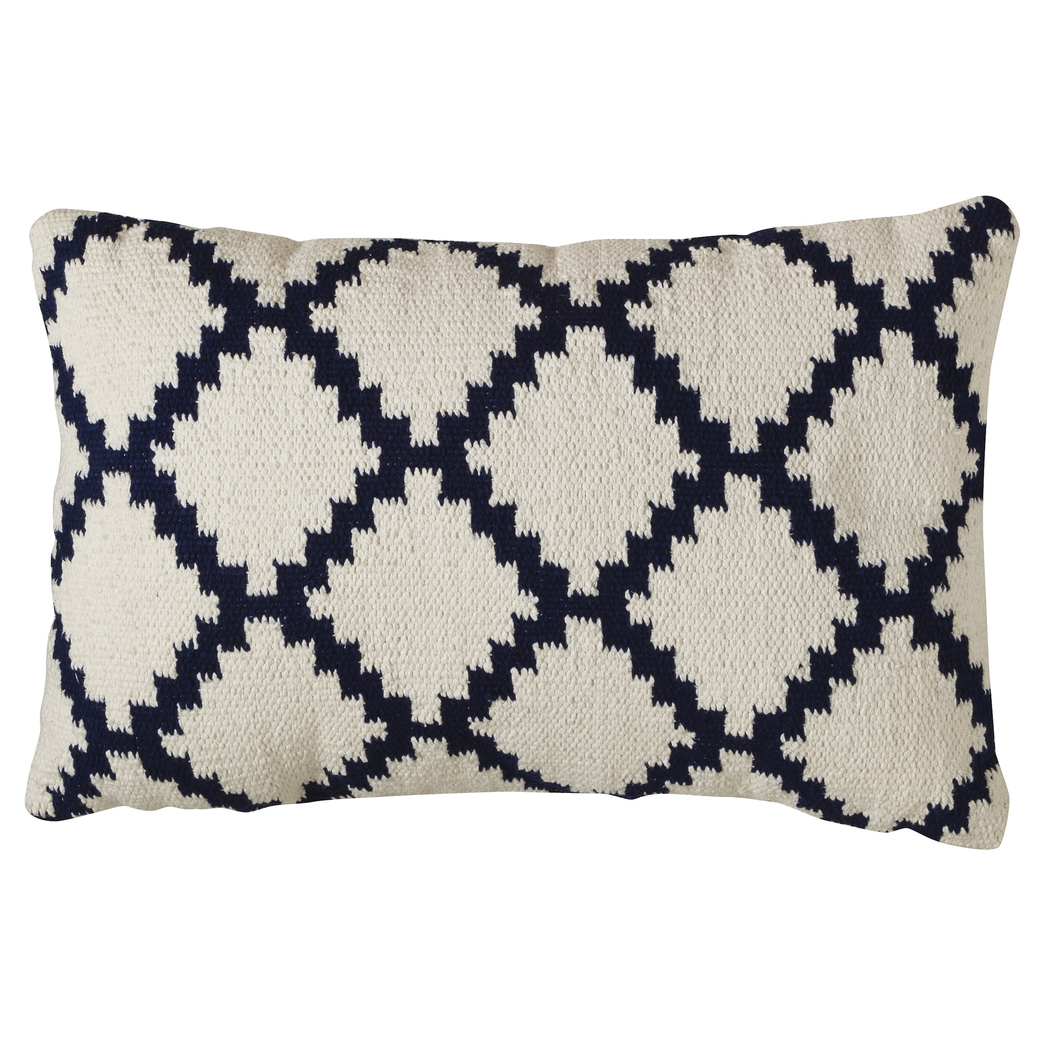 Cozy up to the graphic diamond pattern of this accent pillow ($20).