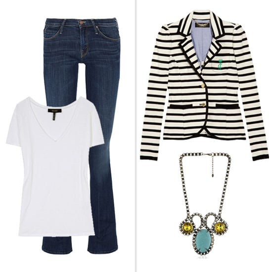 How to Dress Up a T-Shirt and Jeans