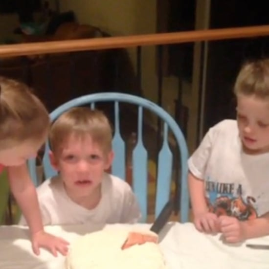Boy's Hilarious Reaction to Baby Sister News