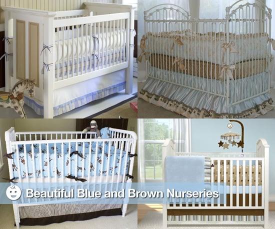 Blue and Brown Nurseries