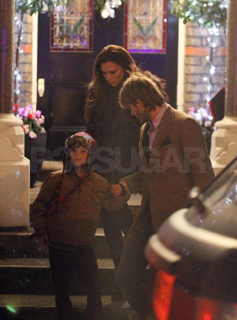 Victoria Has a Mini Spice Girls Reunion at the Ramsays' Holiday Party With David and Their Boys!