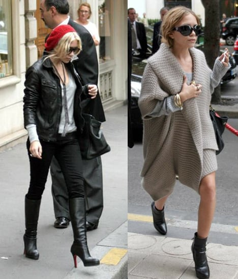 Mary Kate and Ashley Hit Paris